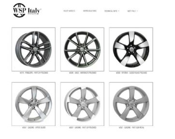 Acacia wheel rims Audi cars